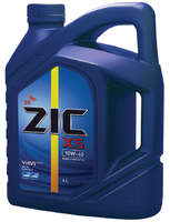 Масло моторное ZIC X5 10W-40 SM  полусинтетическое 4л