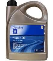Принадлежность для ТО GM Dexos2 5w30 5L пластик Европа