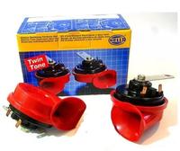 Сигнал звуковой красный, двухтональный 400/500Hz, TE16,12V, 6A, 105-118dB(A)