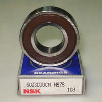 Подшипник шариковый 17x35x10mm радиальный NTN-6003LLU5K= SNR-6003LLU5K= NSK-6003DDUCM