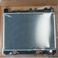 Радиатор охлаждения Toyota Vitz Platz NCP10 1N2/2N2 алюминиевый для АКПП  без заливной горловины