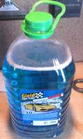Жидкость стеклоомывателя пэт.5л (зеленая крышка-30c) GLEID незамерзающая жидкость омывателя Nezam-NF30= gleid-715411= gleid-NZ0002= gleid-30blue5L