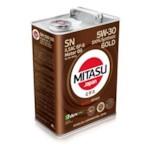 Принадлежность для ТО Mitasu 5w30 Gold 4L Synt.