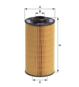 Фильтр масляный элемент 11427510717 = E202H01D34= E202HD34