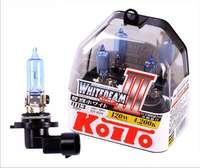Лампа высокотемпературная Koito Whitebeam 0756W 9005 (HB3) 12V 65W (120W) комплект 2шт в пластике